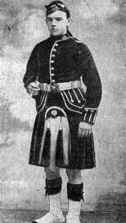 Arthur Farrimond Royal Scots