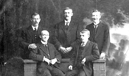 John, Arthur, George, James Henry & Edward (William Hardy emigrated to America)