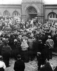 Opening of Farnworth Baths 1893