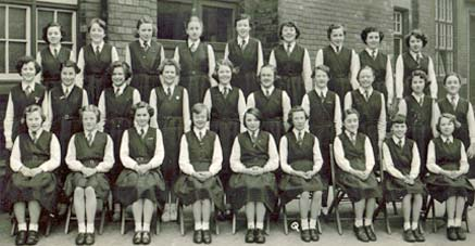 Mount St Joseph Grammar School, Bolton, April, 1955