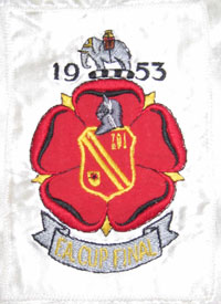 1953 FA Cup final shirt badge