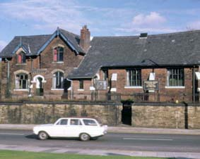 Farnworth Old Grammar School, Albert Road