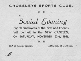 Crossleys Social Event